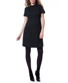 Seraphine 'Acadia' Mock Neck Maternity Dress