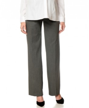 A Pea In The Pod Maternity Wide-Leg Pinstripe Pants
