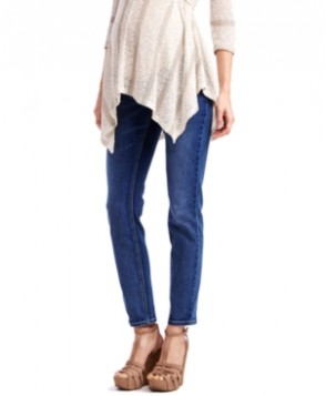 Jessica Simpson Petite Maternity Skinny Jeans, Medium Wash