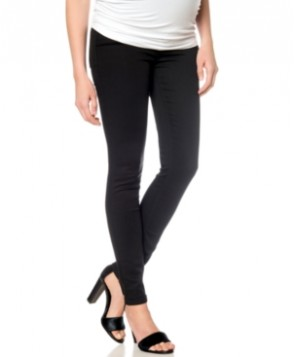 A Pea In The Pod Maternity Skinny Jeans, Black Wash