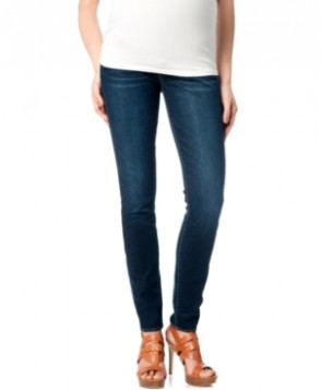 A Pea In The Pod Maternity Secret Fit Belly Skinny Jeans, Delray Wash