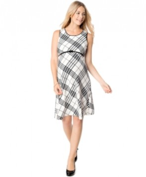 Motherhood Maternity Printed A-Line Dress