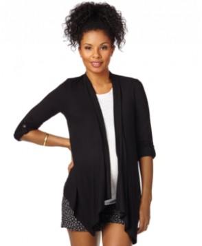 BumpStart Maternity Draped Cardigan