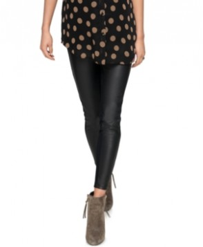 A Pea In The Pod Maternity Faux-Leather Pants