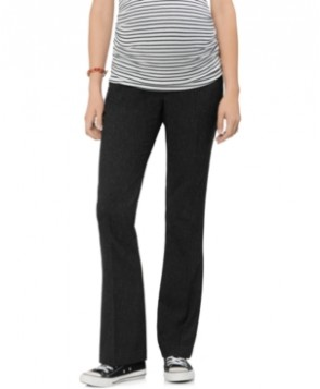 A Pea in the Pod Maternity Secret Fit Belly Slim-Fit Bootcut Tweed Pants