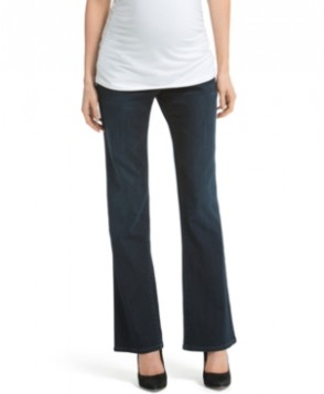 Jessica Simpson Maternity Wide-Leg Dark Wash Jeans