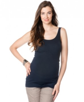 A Pea in the Pod Maternity Scoop-Neck Tank Top