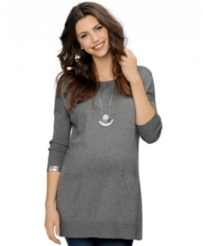 A Pea in the Pod Maternity Pocket-Front Sweater