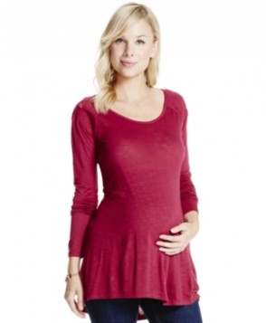 Jessica Simpson Maternity High-Low Tunic