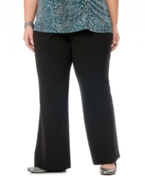 Motherhood Maternity Plus Size Bootcut Stretch Dress Pants