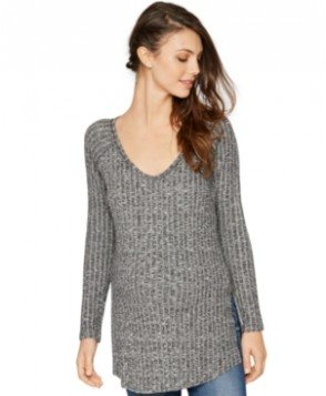 A Pea in the Pod Maternity V-Neck Ribbed Tunic