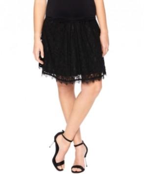 Motherhood Maternity A-Line Lace Skirt