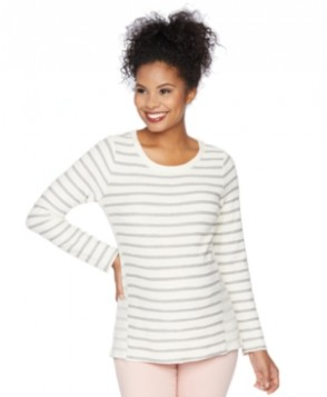 Motherhood Maternity Striped Crew-Neck Sweatshirt