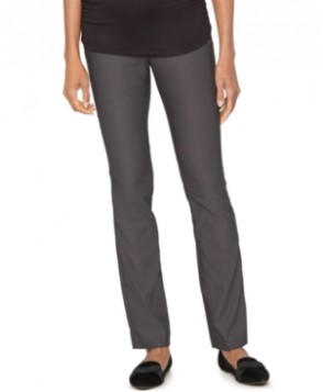 A Pea In The Pod Maternity Twill Straight-Leg Pants