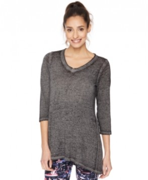 Motherhood Maternity V-Neck Burnout Top