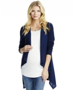 Jessica Simpson Maternity Open-Front Cardigan