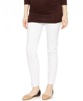 A Pea in the Pod's Maternity Skinny Jeans, White Wash