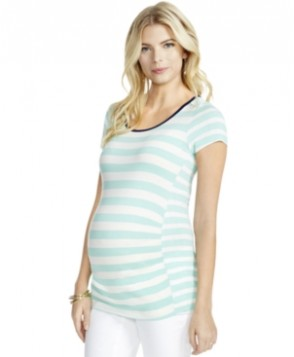 Jessica Simpson Maternity Striped Tee