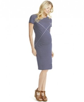 Jessica Simpson Striped Sheath Dress