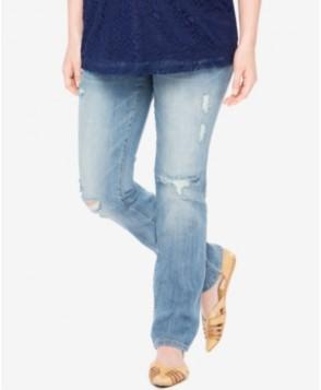 Motherhood Maternity Boot-Cut Oasis Medium Wash Maternity Jeans