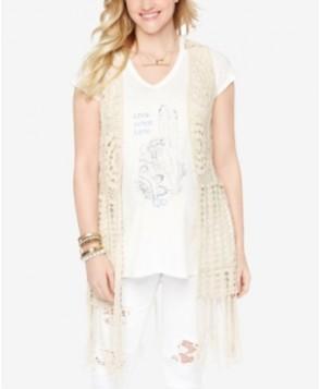 Wendy Bellissimo Maternity Crochet Vest