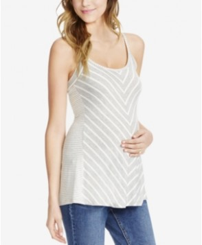Jessica Simpson Maternity Striped Tank Top
