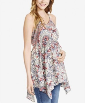 Jessica Simpson Maternity Printed Tank Top From Motherhood Maternity