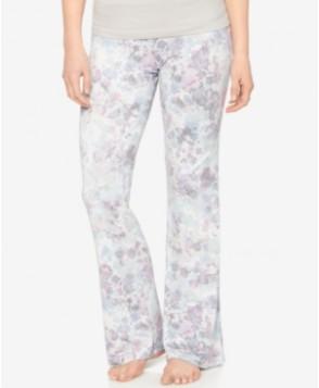 A Pea In The Pod Printed Maternity Pajama Pants