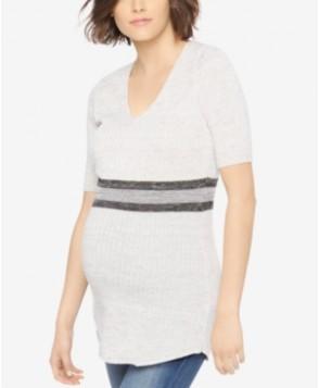 Motherhood Maternity Elbow-Sleeve Sweater