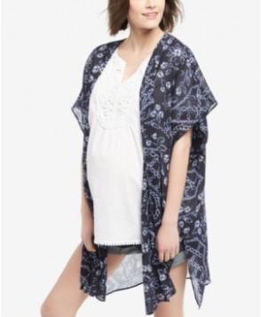 Motherhood Maternity Printed Kimono