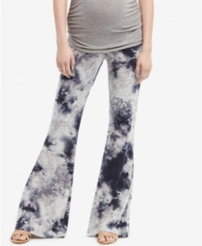 Wendy Bellissimo Maternity Tie-Dyed Flared Pants