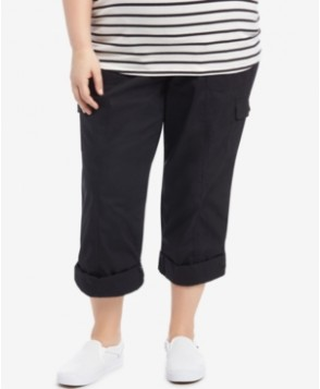 Motherhood Maternity Plus Size Convertible Cargo Pants