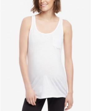 Motherhood Maternity Pocket-Front Tank Top