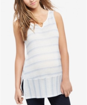 Motherhood Maternity Striped Sleeveless Top