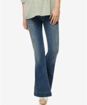 Blank Nyc Maternity Medium Wash Flared Jeans
