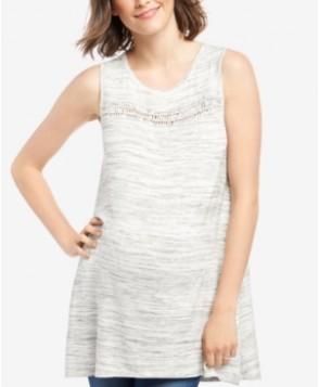 Wendy Bellissimo Maternity Handkerchief-Hem Top