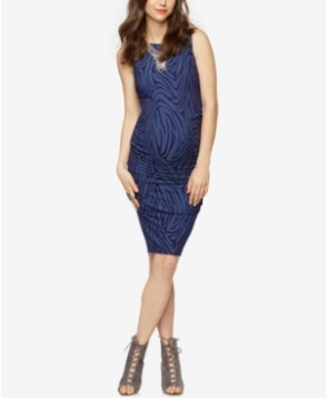 A Pea In The Pod Maternity Printed Sheath Dress