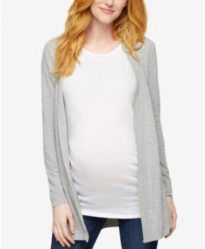 A Pea In The Pod Maternity Lace-Paneled Cardigan