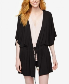 A Pea In The Pod Nursing Belted Short-Sleeve Robe