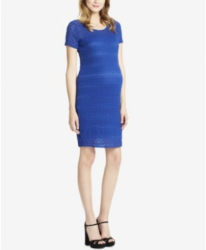 Jessica Simpson Maternity Lace Sheath Dress