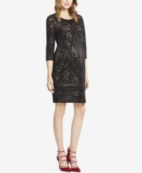 Jessica Simpson Maternity Printed Jersey Sheath Dress