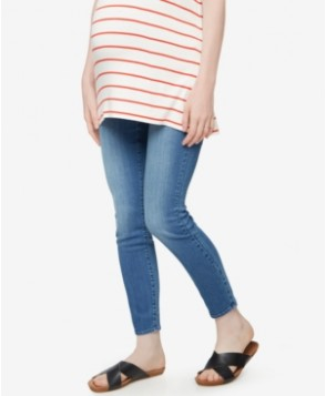 A Pea in the Pod Maternity Medium-Wash Skinny Jeans