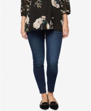 A Pea in the Pod Maternity Dark Wash Skinny Jeans