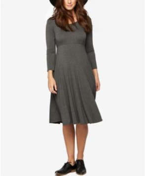 A Pea In The Pod Maternity Three-Quarter-Sleeve Dress