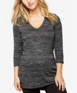 A Pea In The Pod Maternity Three-Quarter-Sleeve Tunic