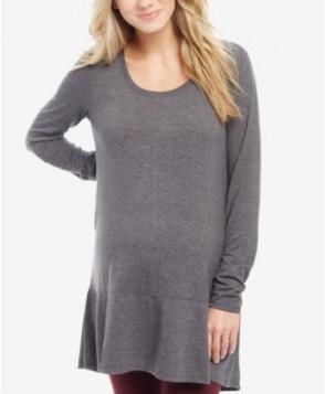 Motherhood Maternity Ruffle-Hem Tunic