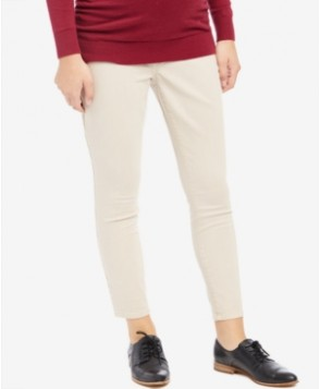 Motherhood Maternity Skinny Cropped Pants