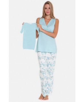 Olian -Piece Maternity Sleepwear Gift Set