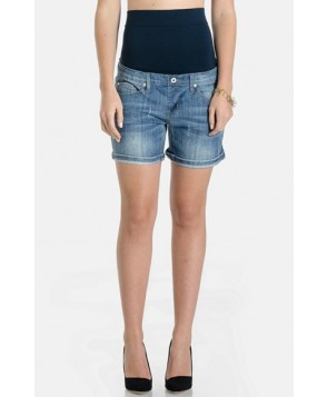 Lilac Clothing Maternity Denim Shorts