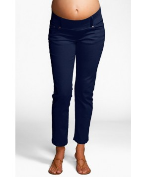 Maternal America Maternity Skinny Ankle Stretch Jeans